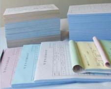 專業提供單色NCR單簿印刷,彩色NCR單簿印刷,發票單簿印刷